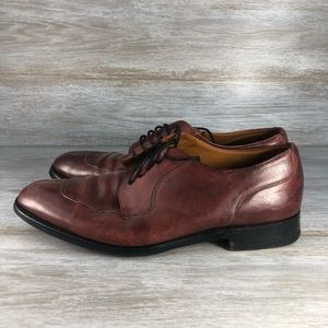 COLE HAAN Split toe Oxford Made in England